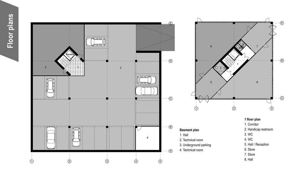 Plan wc handicap best plan wc handicap with plan wc for Wheelchair accessible house plans with elevator